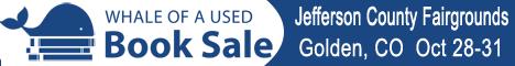 Golden Colorado Book Sale